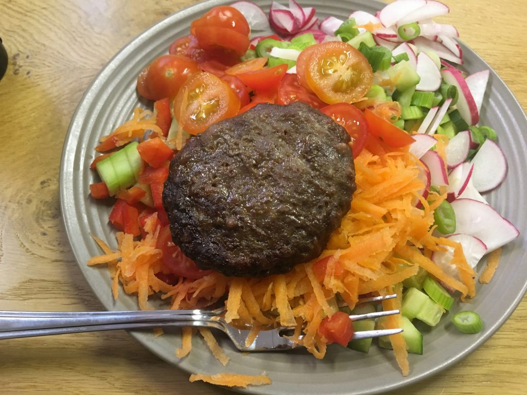 Tasty Tuesday: Salad With A Side Of Protein