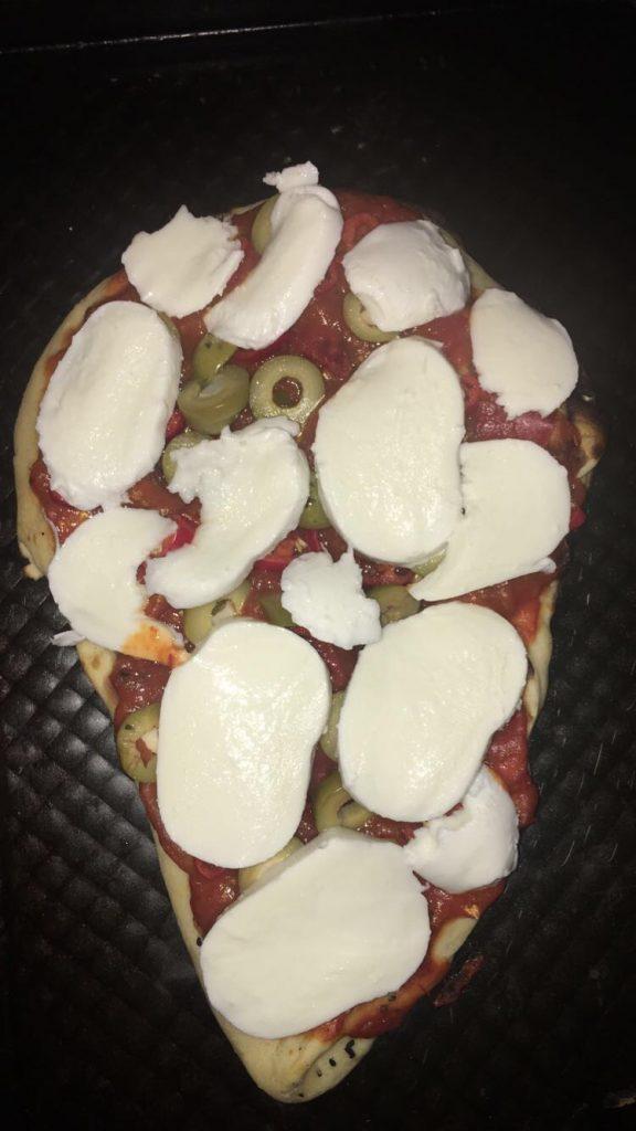 Add 1 Mozzarella Ball