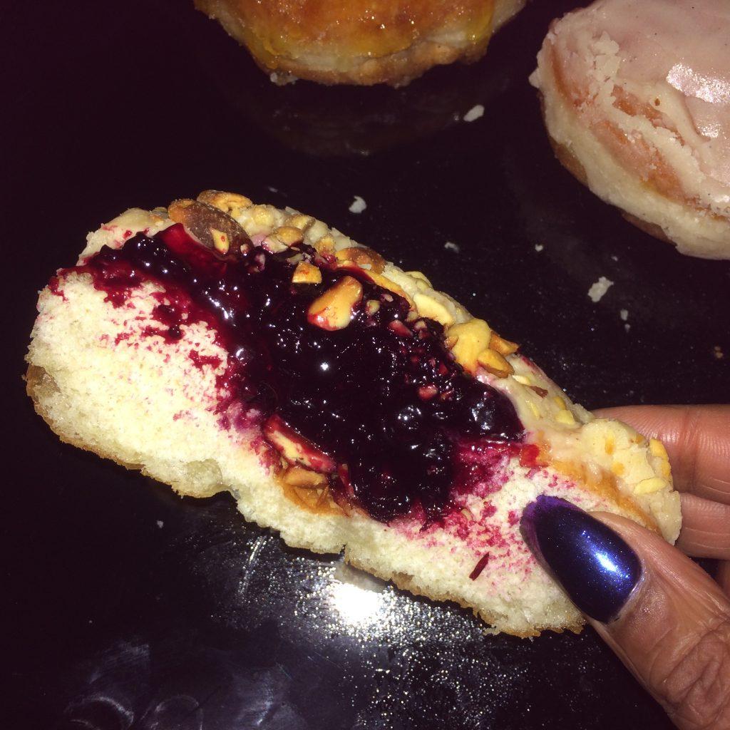 Inside the Peanut Butter Berry