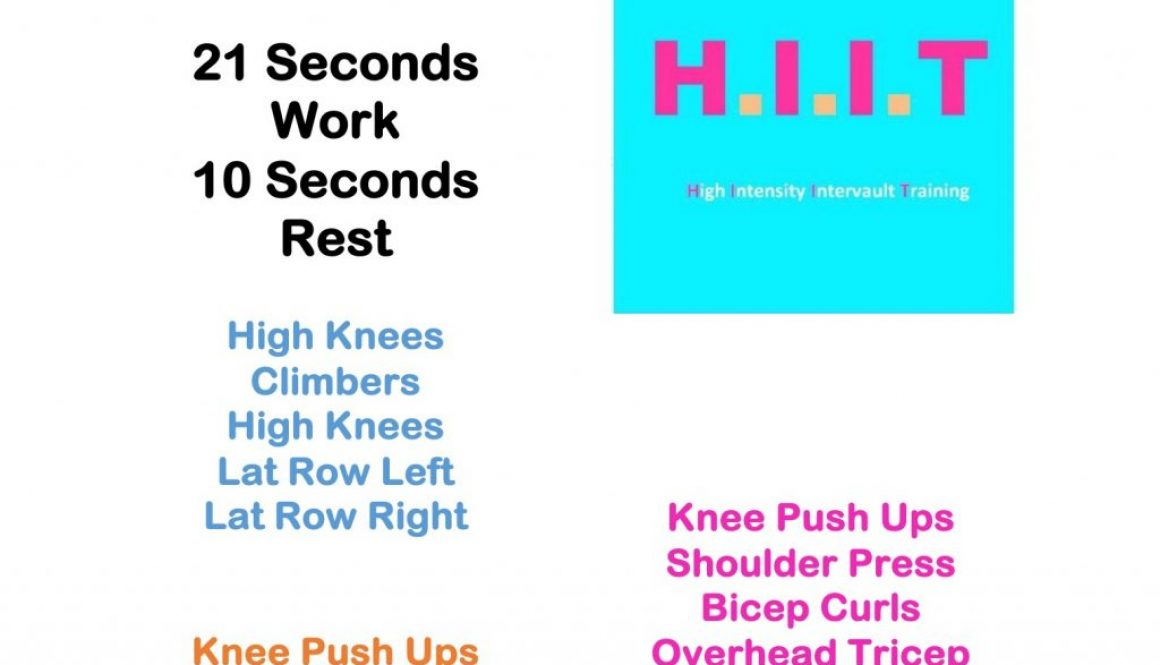 Workout Wednesday & HIITs 43