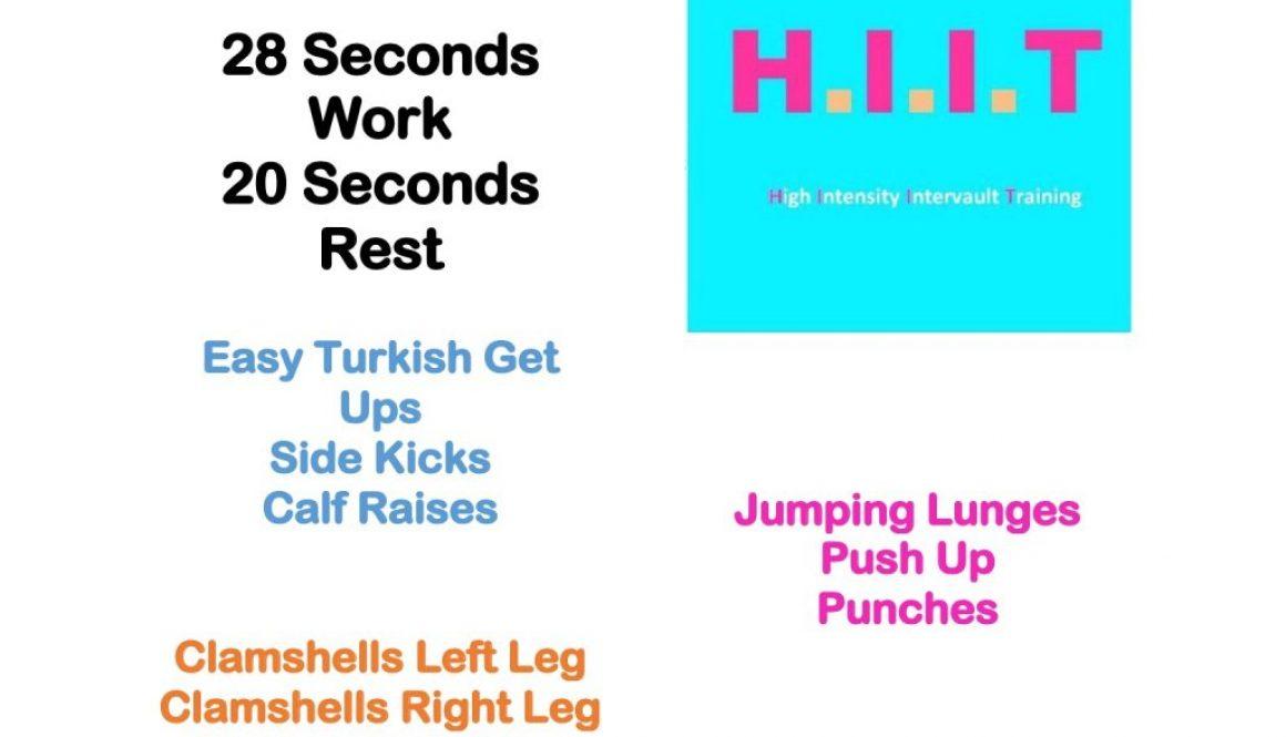 Workout Wednesday HIIT 74