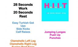 Workout Wednesday HIIT 74
