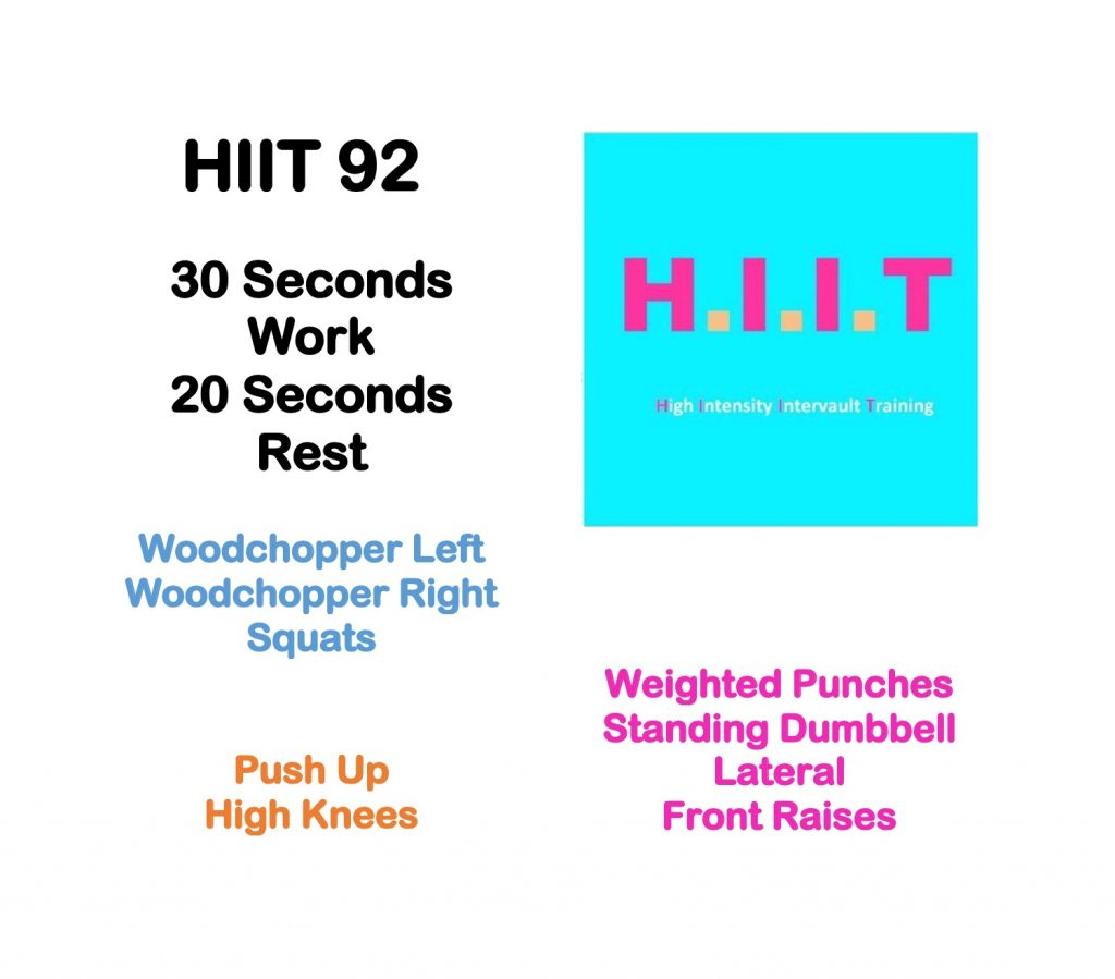 Workout Wednesday HIIT 92