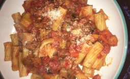 Tasty Tuesday: Spicy Tomato Rigatoni Pasta