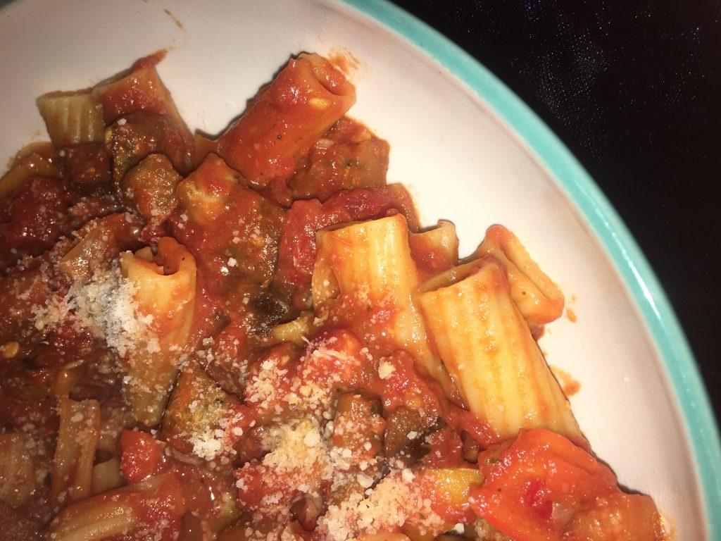 Tasty Tuesday: Spicy Tomato Rigatoni Pasta