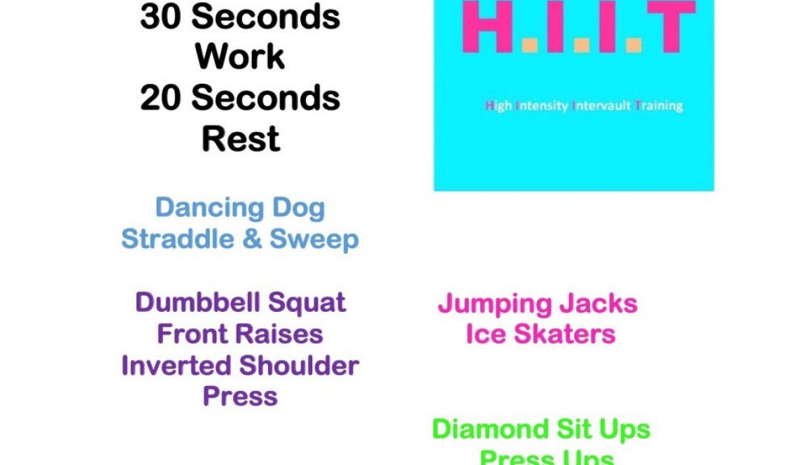 Workout Wednesday HIIT 120
