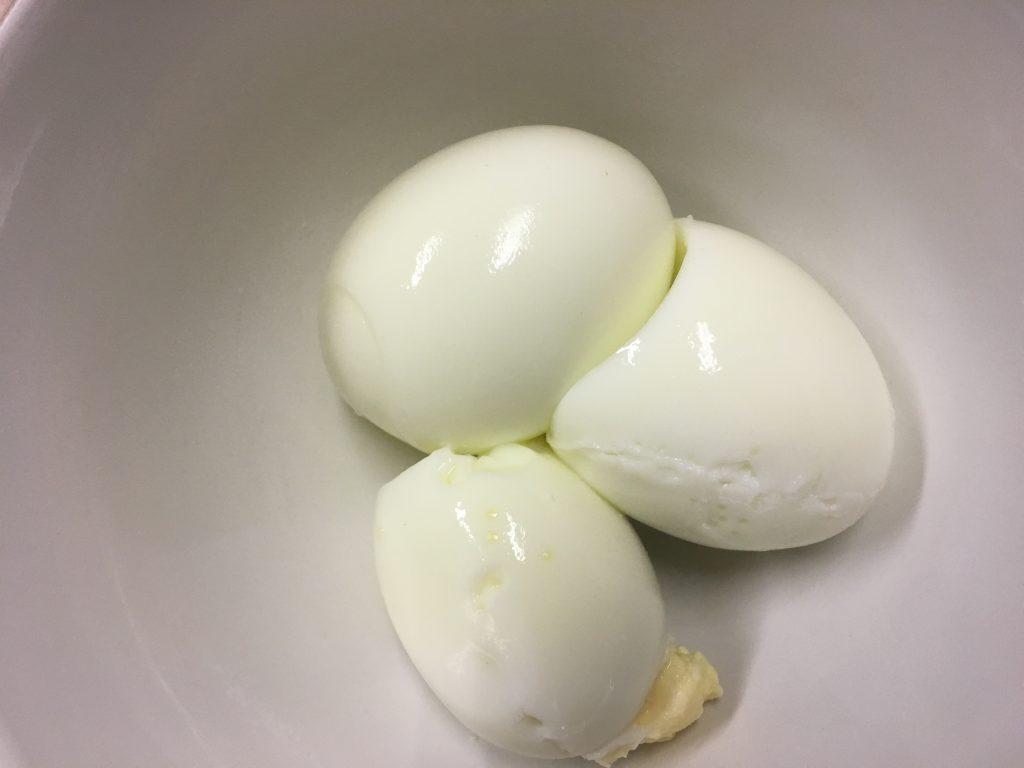 3 Boiled Eggs