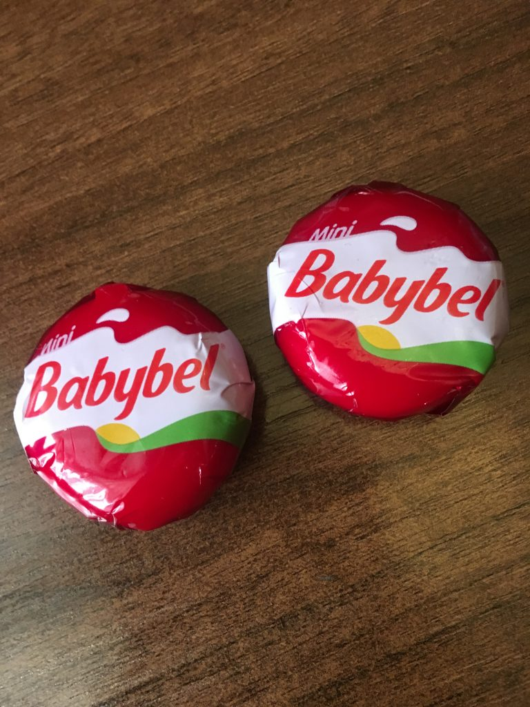 Two Mini Babybel