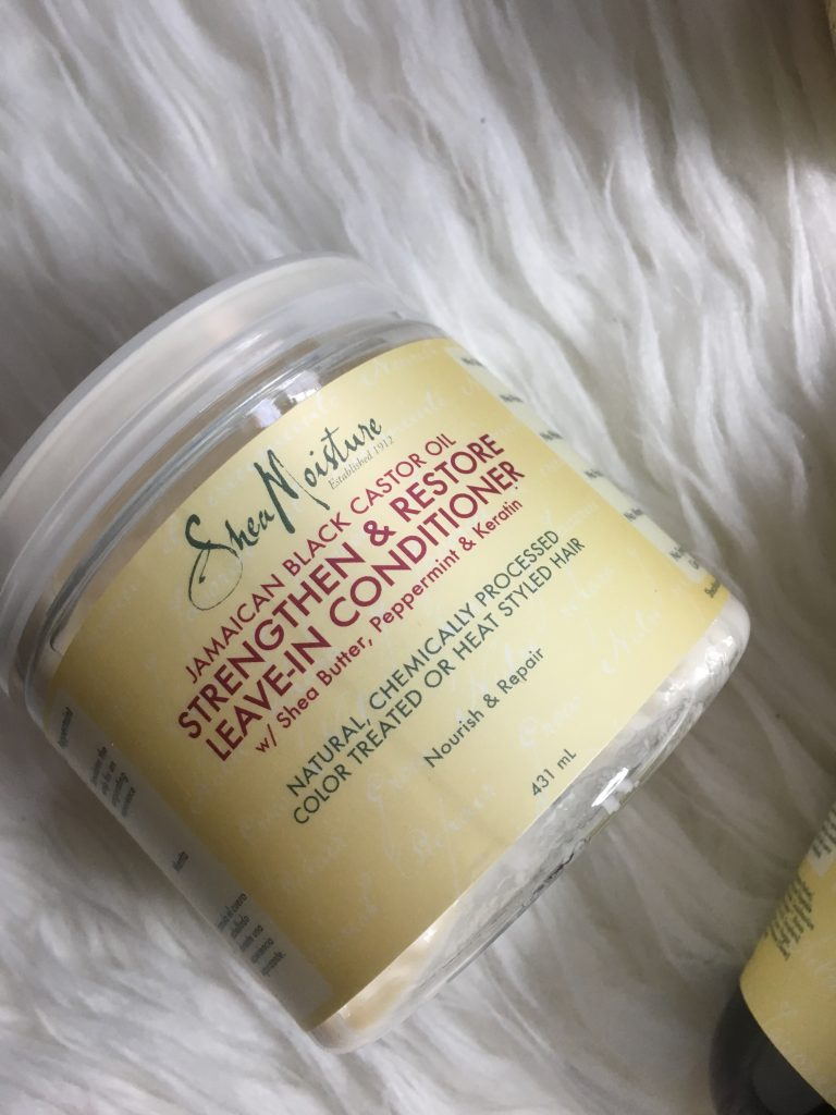 Shea Moisture Jamaican Black Castor Oil Strengthen & Restore Leave-In Conditioner
